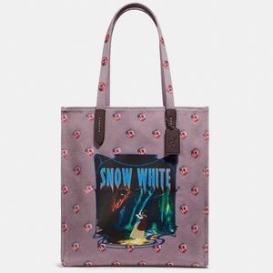 Coach Snow White canvas tote